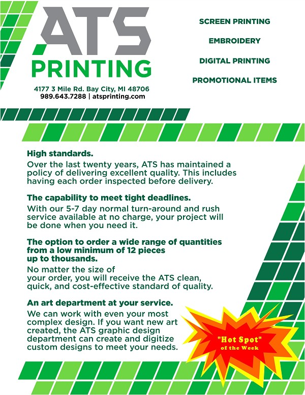 6bcb79da9 MyBayCity.com ATS Printing is BACC Hot Spot for 8/7/2017