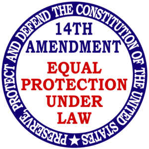 14th amendment equal protection under the This summary explains the key clauses of the 14th amendment and its the equal protection clause prevents states from women's rights and the fourteenth amendment.