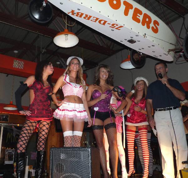 Saginaw hooters bikini contest