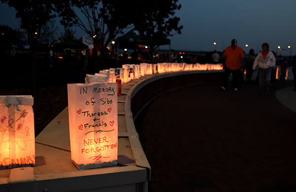 Luminaries show remembrance and hope   MyBayCity Photo by John Keuvelaar MyBayCity com Bay County Relay for Life   Celebration of Life. Luminary Lighting John Kent. Home Design Ideas
