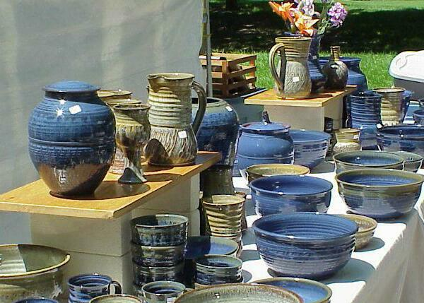 Pottery by Jud Tanja of Kalamazoo, Michigan
