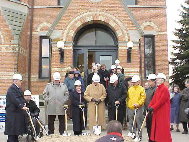 Community Leaders Break Ground for three million dollar project.
